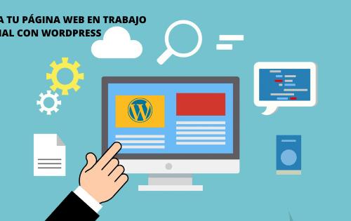 Crea tu página web con WORDPRESS