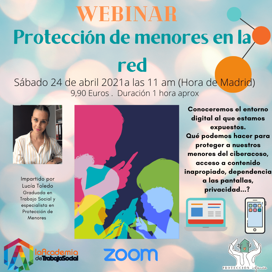 webinar proteccion menores red